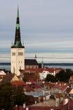 St. Olav的教会 免版税库存图片