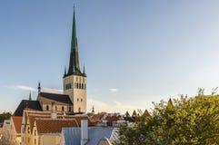 St. Olav church and tower, Tallinn Stock Images