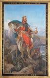 St Olav il re della Norvegia Fotografia Stock