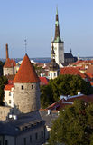 St. Olav's Church and Tower, Tallinn Royalty Free Stock Images