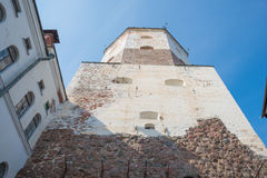 St. Olav tower in Vyborg castle, North Western Russia Stock Photography