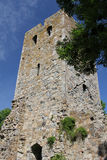 St Olof church ruin in Sigtuna, Sweden Stock Images