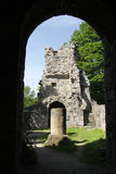 St Olof church ruin in Sigtuna, Sweden Royalty Free Stock Photo