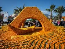 1st Oranje Festival 26 van Finike 03 2016 Royalty-vrije Stock Foto