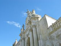 The st Orontio gate in Lecce Royalty Free Stock Photos