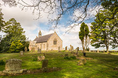 St Oswald's Church Graveyard Royalty Free Stock Images