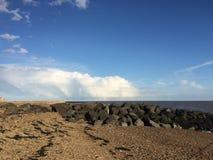 St osyth strand Royalty-vrije Stock Afbeeldingen