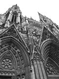 St. Ouen cathedral. In Rouen Stock Photo