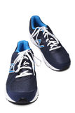 St PÉTERSBOURG, RUSSIE - 31 mars 2014 : Chaussures sportives de New Balance Images libres de droits