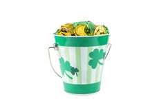 St. Paddy Bucket Royalty Free Stock Photo