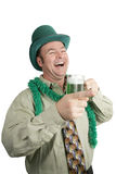 St Paddy's Day Drunk Laughter Stock Photography