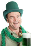 St Paddy's Day Drunk - Portrait royalty free stock photography