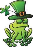 St Paddys dnia żaba Zdjęcie Stock