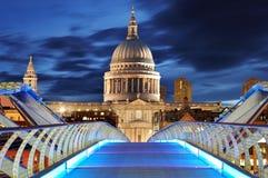 St Paiul - Лондон собора, Великобритания стоковые фотографии rf