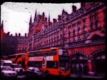 St Pancras Stockfotos