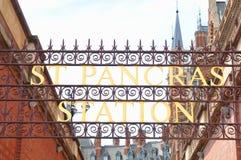 St Pancras Lizenzfreie Stockbilder