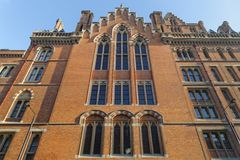 St pancras building, london, england Royalty Free Stock Photos