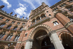 St. Pancras Hotel in London Stock Photo