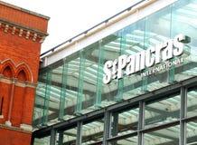 St Pancras international Stock Photos