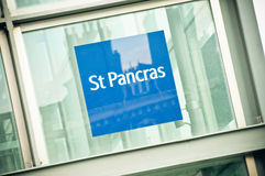 St Pancras International station Stock Photos