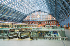 St Pancras International Station Royalty Free Stock Images