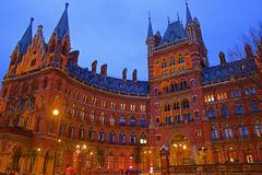 St Pancras International station in London Royalty Free Stock Photo