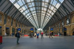 St Pancras International station, London, UK Stock Photos