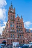 St Pancras International station, London, UK Royalty Free Stock Images