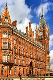 St Pancras Internationale Post royalty-vrije stock afbeelding