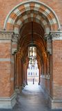 St Pancras, Londen Stock Foto