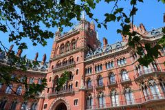 St Pancras, London Stock Photos