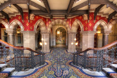 St. Pancras Post Londen Royalty-vrije Stock Foto's