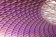 St. Pancras rail station roof Stock Photography