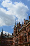 St.Pancras Railway Station. royalty free stock photography