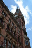 St.Pancras Railway Station. Stock Photo