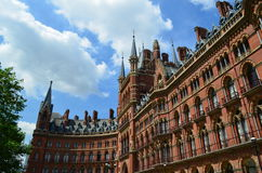 St.Pancras Railway Station. Stock Images