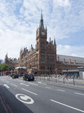 St Pancras railway station Stock Images