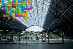 St Pancras railway station Stock Photography