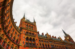 St Pancras railway station in London Stock Images