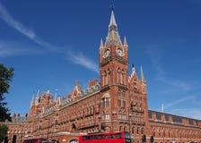 St. Pancras Railway Station, London Stock Image