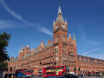 St. Pancras Railway Station, London, Royalty Free Stock Images
