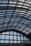St.Pancras Railway Station roof. Stock Photography
