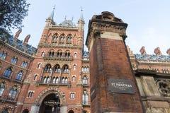 St. Pancras Renaissance Hotel Royalty Free Stock Images