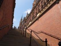 St. Pancras Renesansowy Londyński hotel Zdjęcia Royalty Free