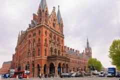 St Pancras renesansu hotel zdjęcie stock