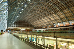 st.Pancras Stacja Zdjęcia Royalty Free