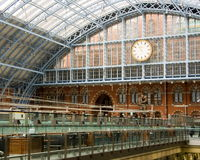 St. Pancras Station Royalty Free Stock Image