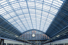 St Pancras Station. In London Stock Image