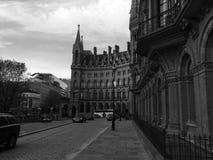 St Pancras Station & Hotel royalty free stock photo
