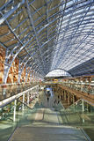 St Pancras Station terminal Stock Image